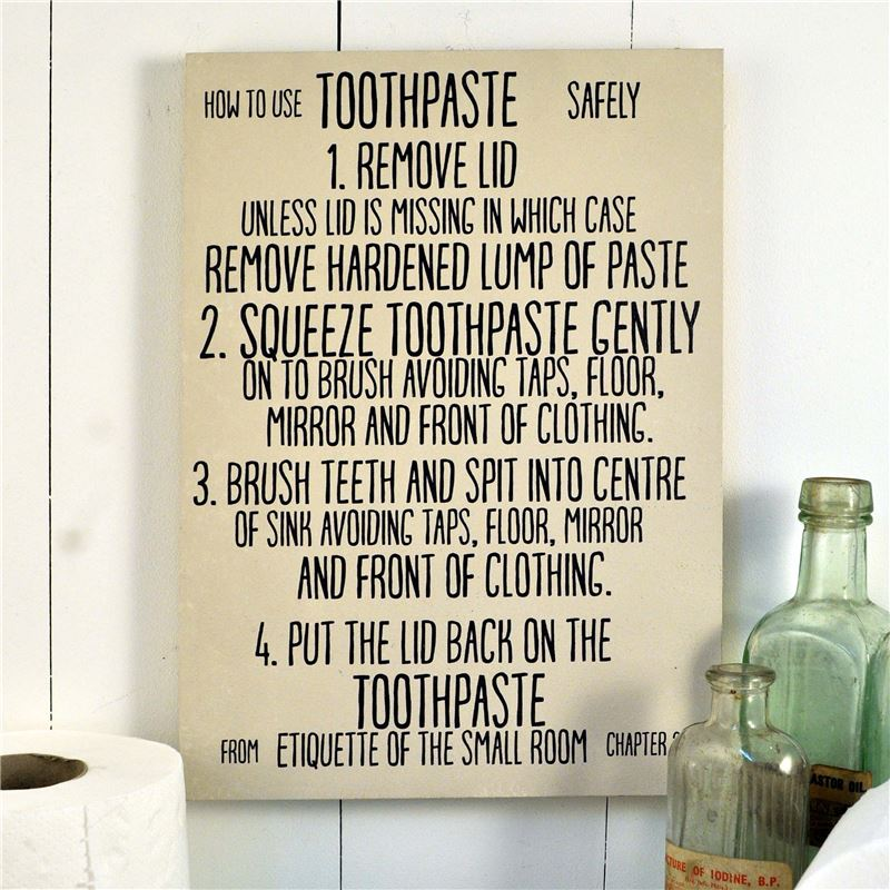 Order How to use toothpaste