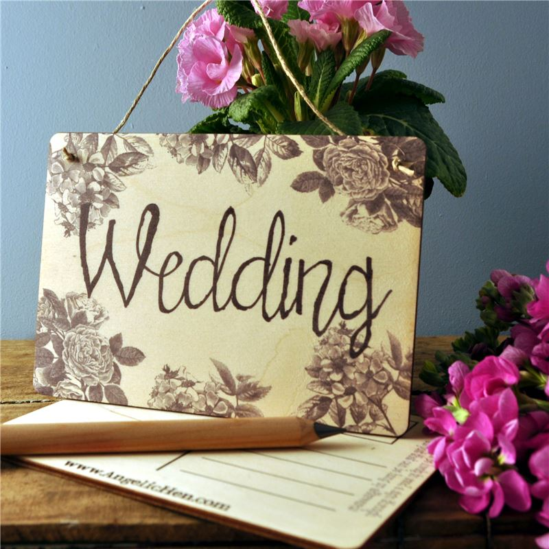 Order Sign Posts - Wedding