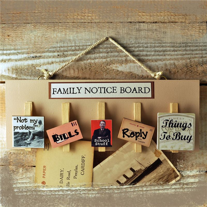 Order Family Notice Board from Angelic Hen
