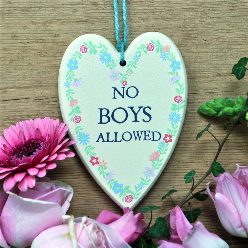 Order No boys allowed