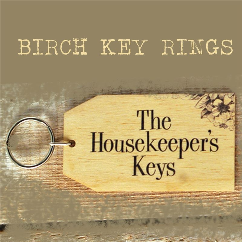Order Birch Key Ring: The Housekeeper's Keys