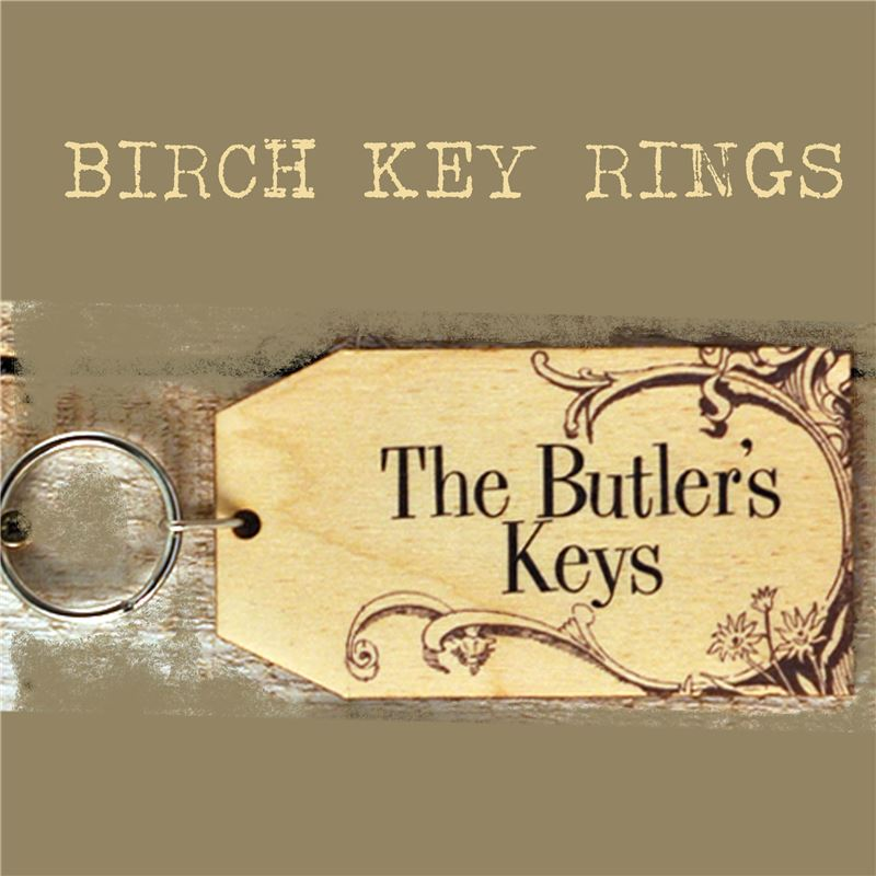 Order Birch Key Ring: The Butler's Keys