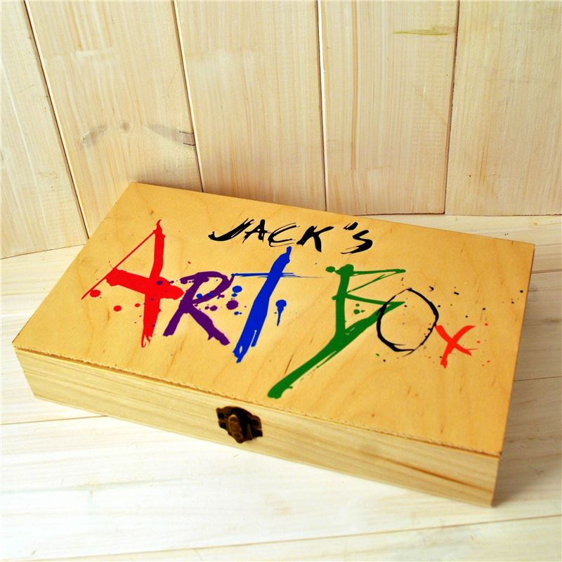 Order Personalised Art Box