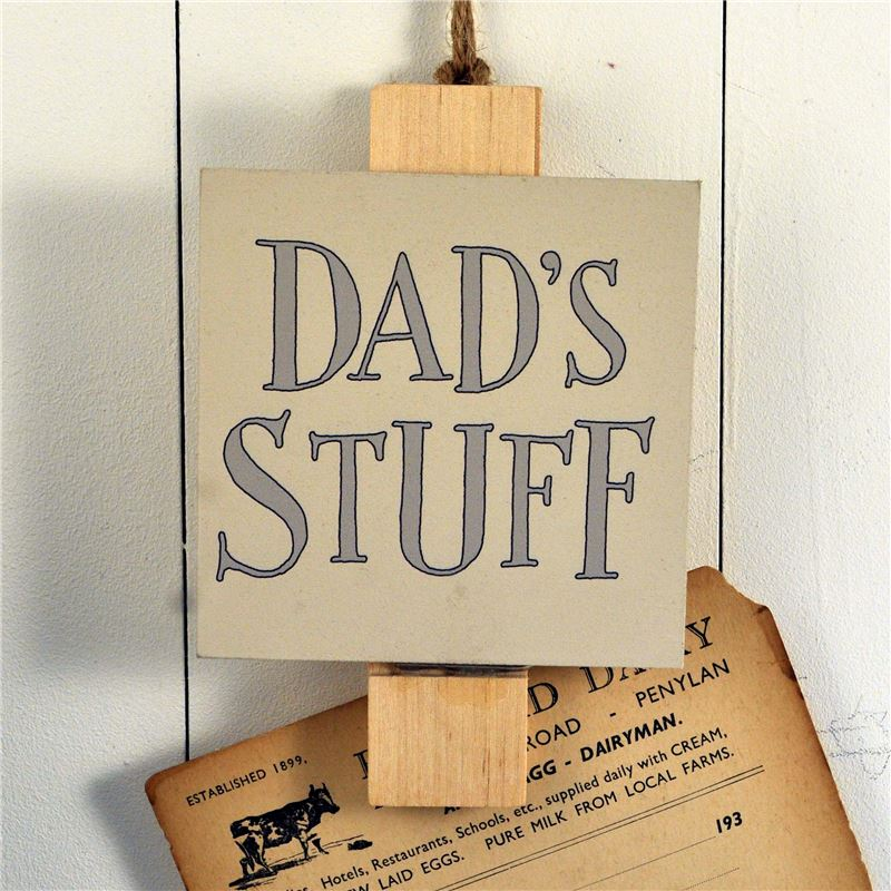 Order Big Peg:  Dad's Stuff