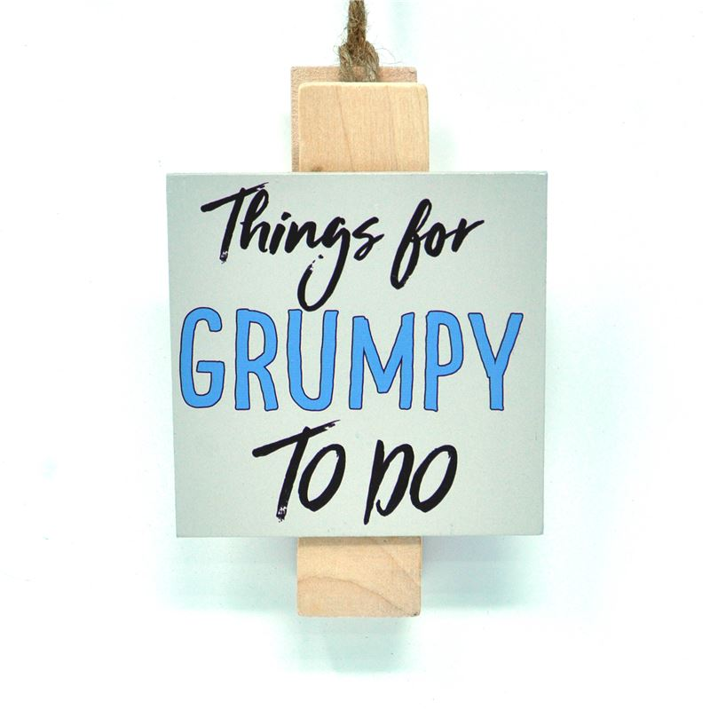 Order Grumpy To Do