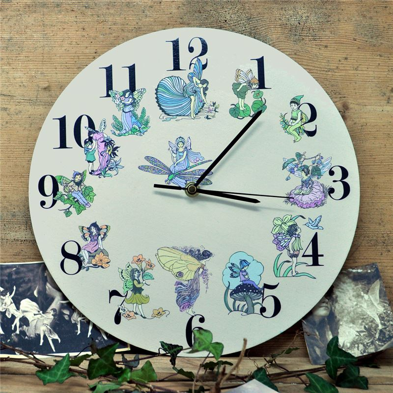 Order Flower fairy clock