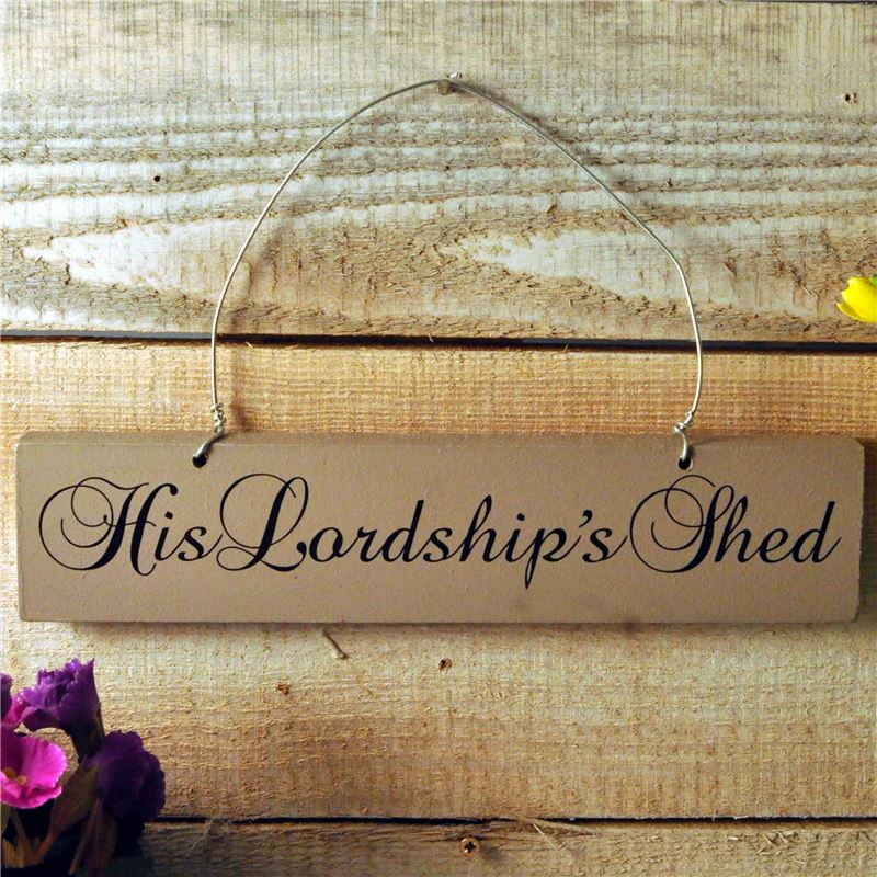 Order His Lordships shed