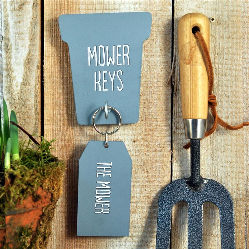 Order Mower Key rack and key ring