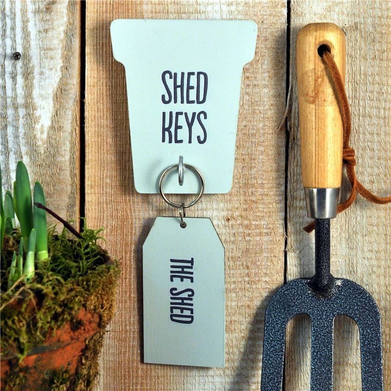 Order Shed Key rack and key ring