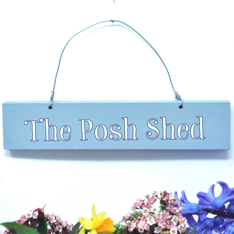 Order The Posh Shed