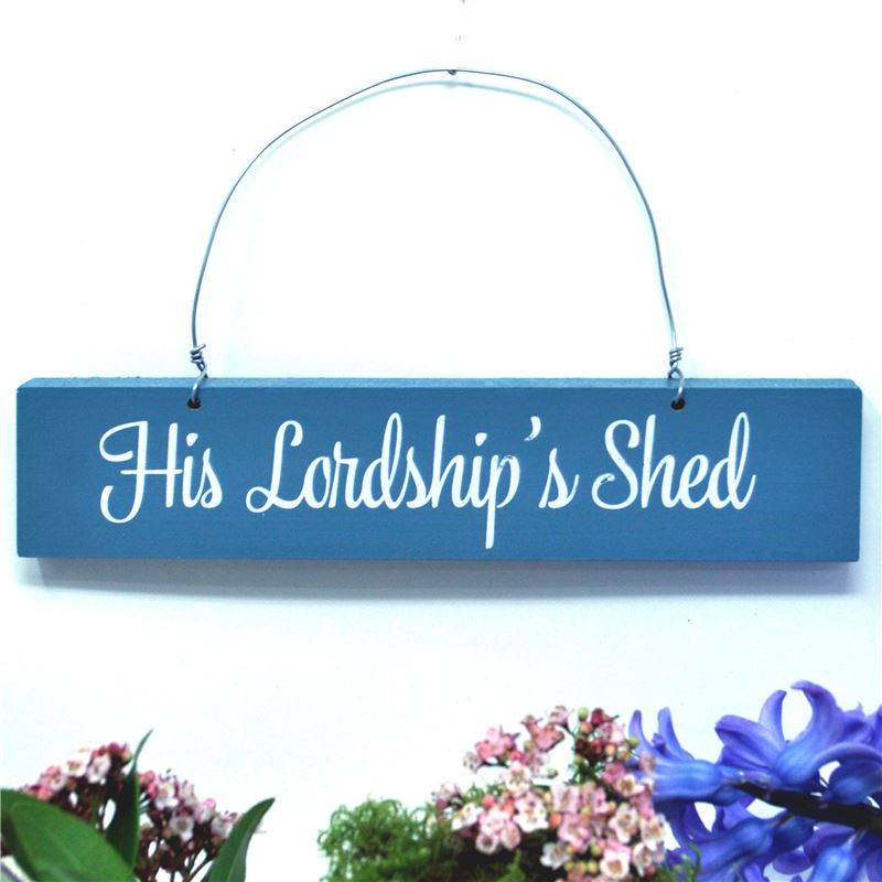 Order His Lordship's Shed