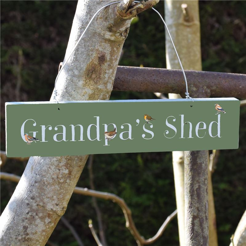 Order Grandpa's Shed