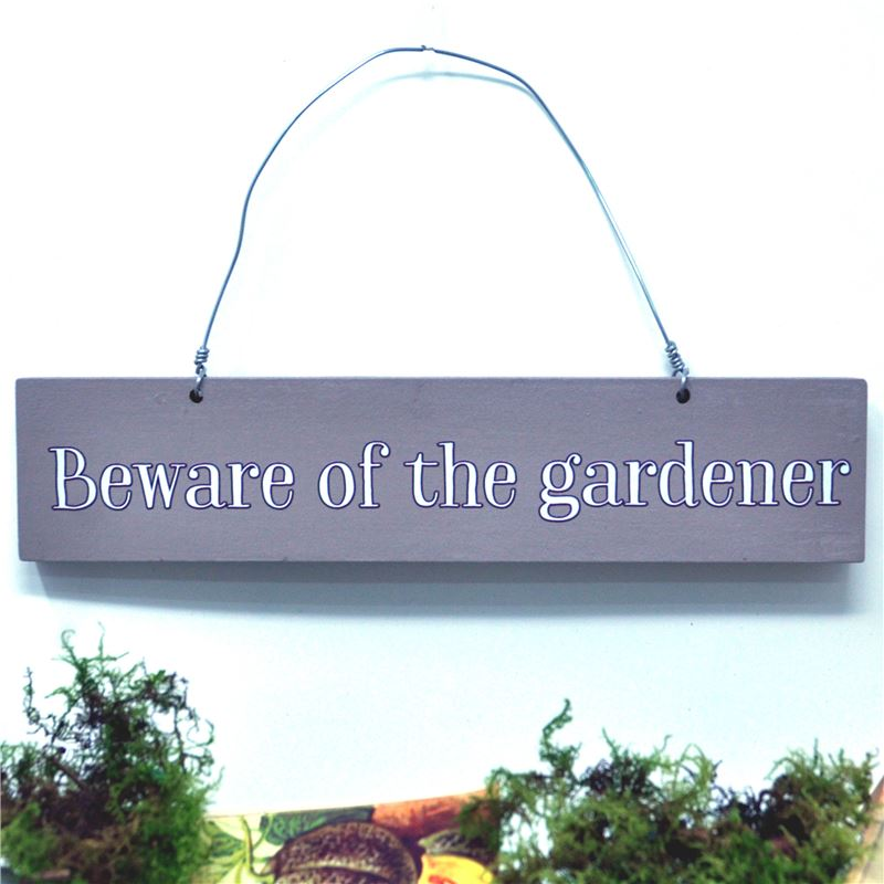 Order Beware of the Gardener