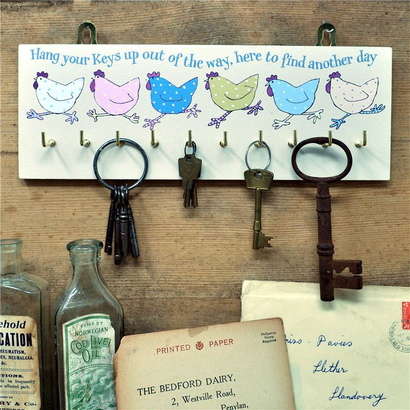 Order Hetty Hen Key rack Cream