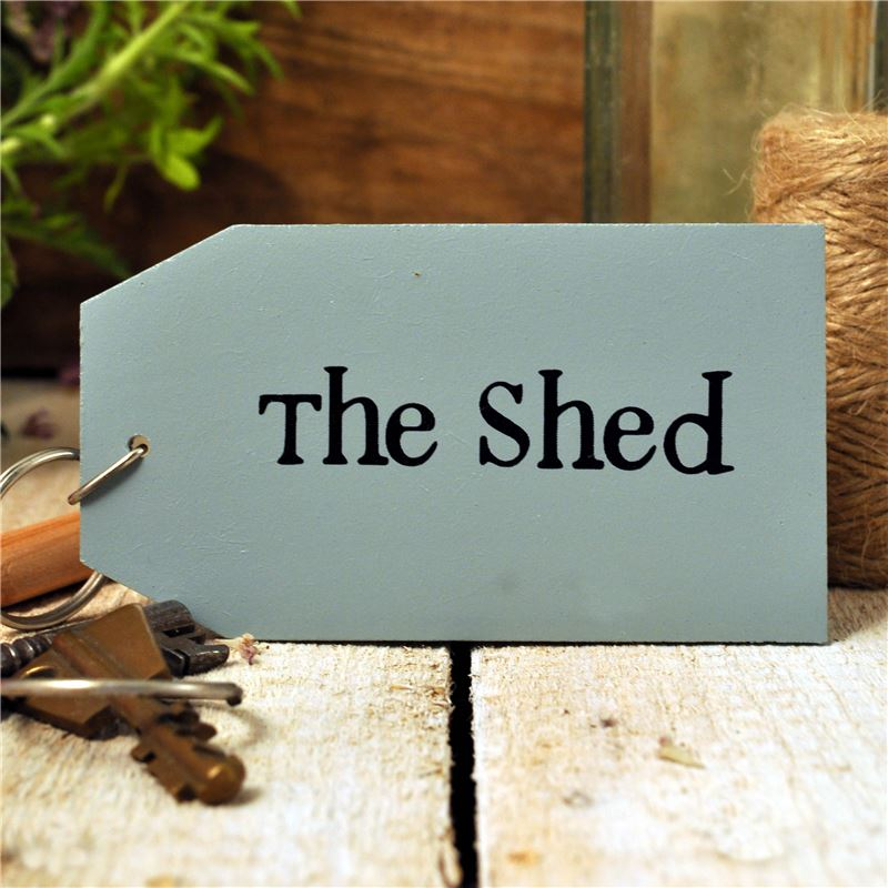 Order Wooden Key Ring:  The Shed