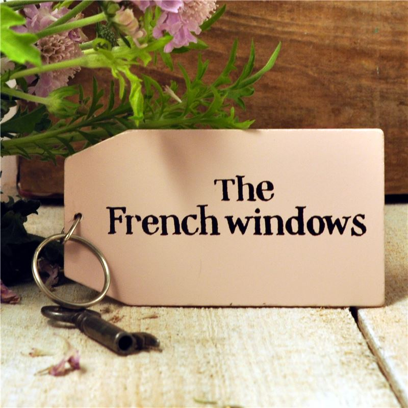 Order Wooden Key Ring:  The French Windows
