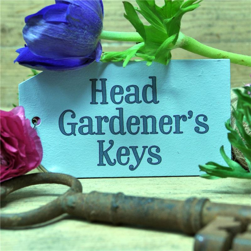 Order The head Gardener Key Ring