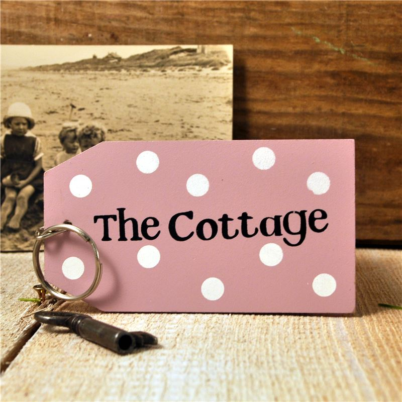 Order Wooden Key Ring:  The Cottage