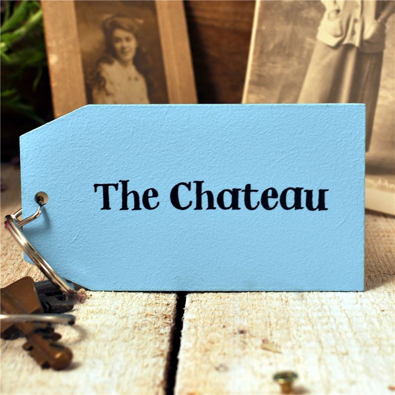 Order Wooden Key Ring:  The Chateau