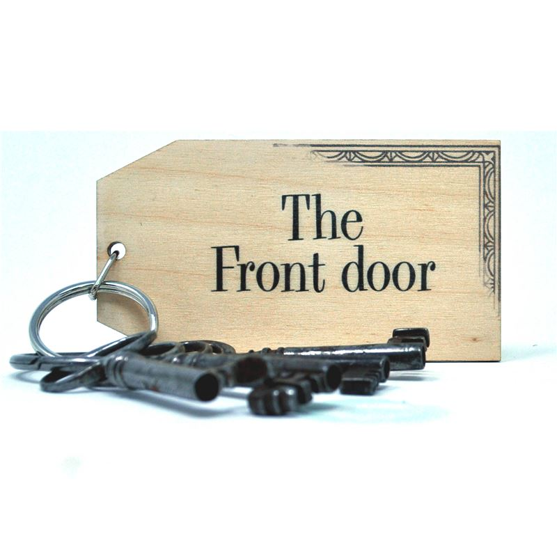 Order Birch Key Ring: The Front Door