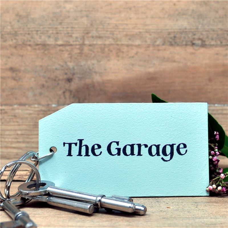 Order Wooden Key Ring:  The Garage