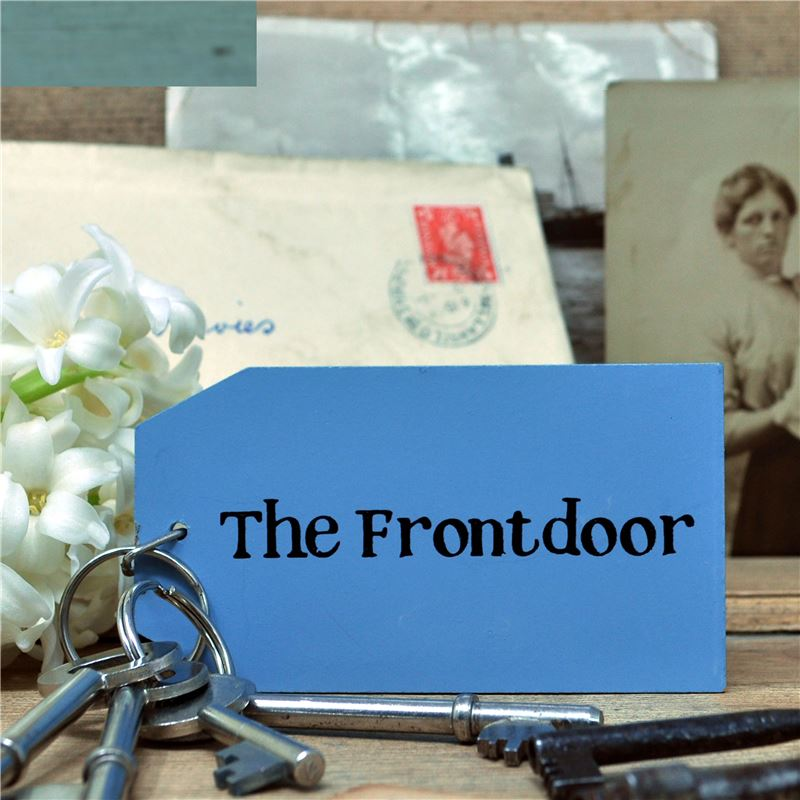 Order Wooden Key Ring:  The Front Door