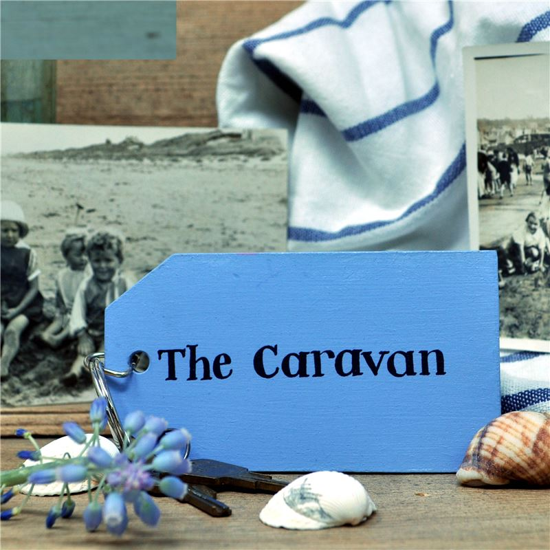 Order Wooden Key Ring:  The Caravan