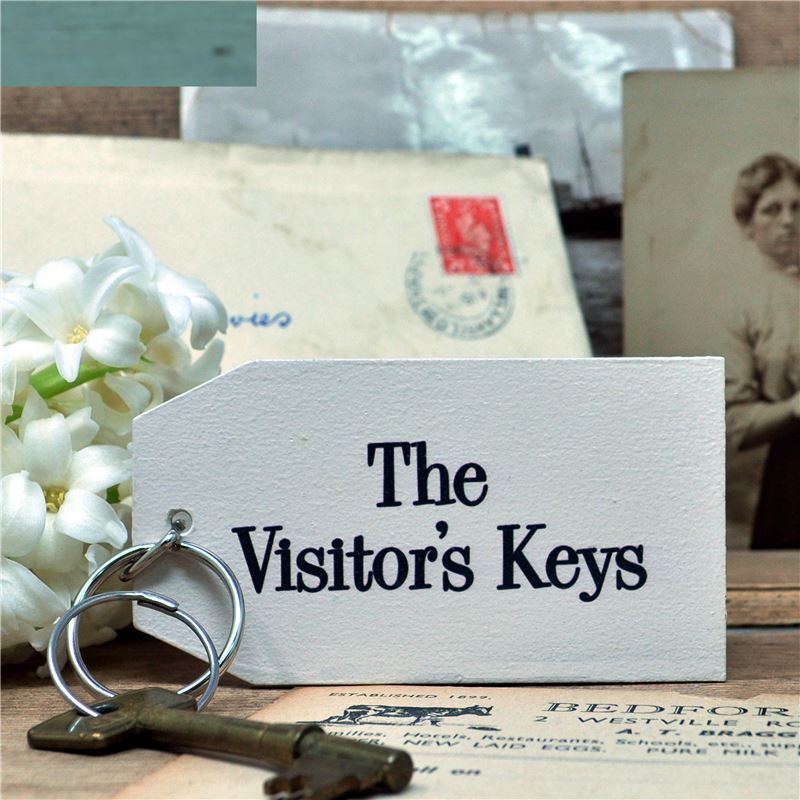 Order Wooden Key Ring:  The Visitor's Key