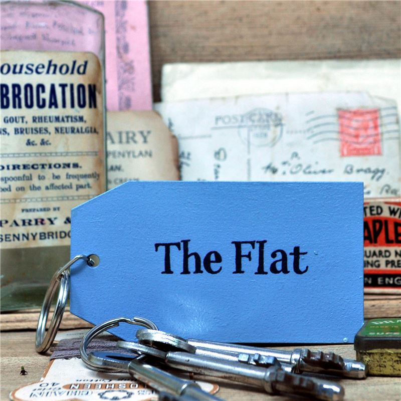 Order Wooden Key Ring:  the Flat