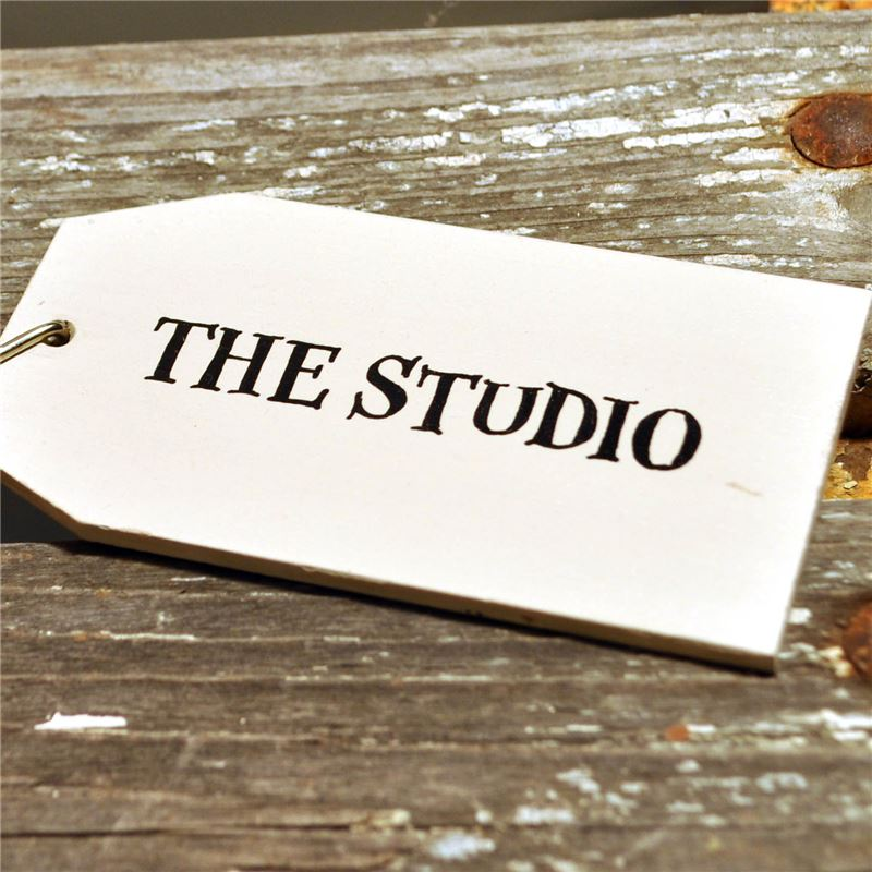 Order Wooden Key Ring:  The Studio