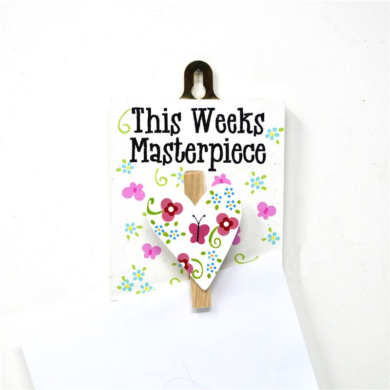 Order This Week's Masterpiece: Pretty Jolly Heart Peg