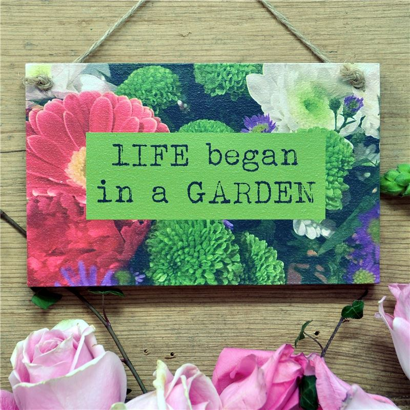 Order Life Began in a Garden