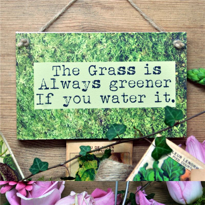 Order The Grass is Always Greener