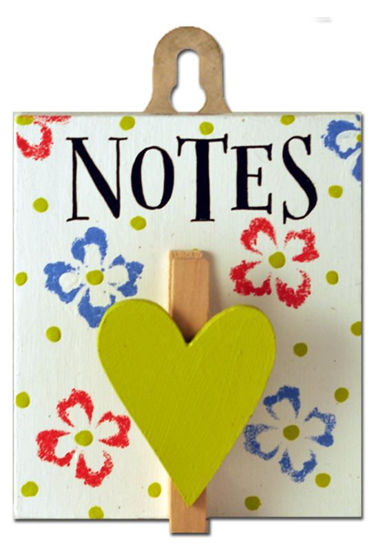 Order Notes (Posy Pegs)