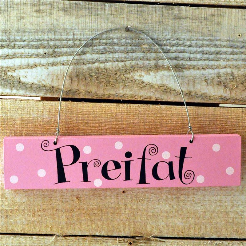 Order Preifat  (pink spotty)