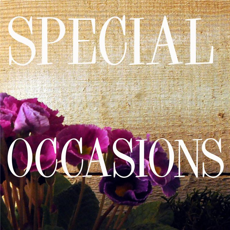 Order SPECIAL OCCASIONS
