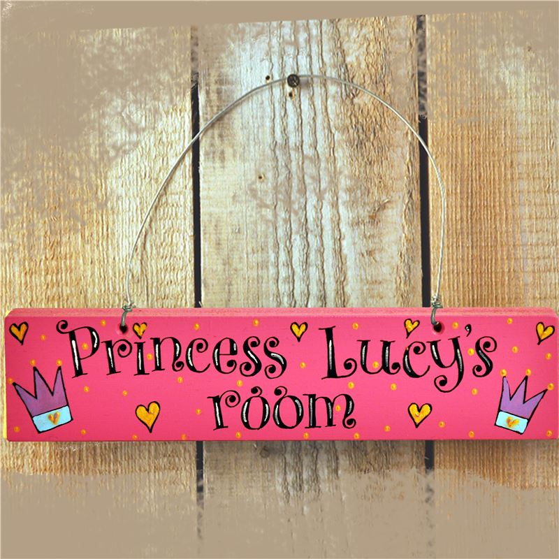 Order Princess Door Sign  - Personalised for your little Princess!