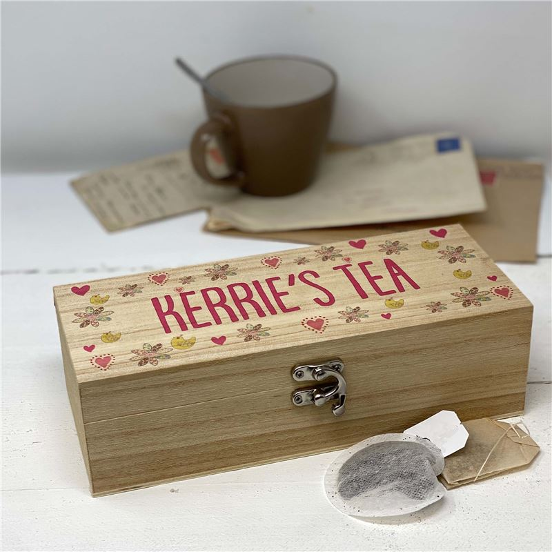 Order Personalised Tea box