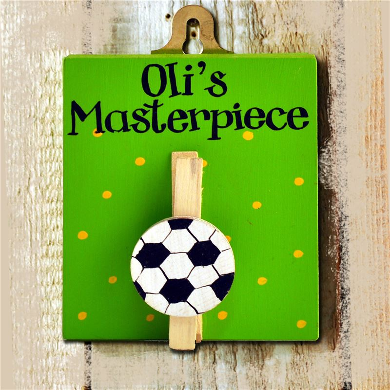 Order A Personalised Masterpiece Peg board - Football