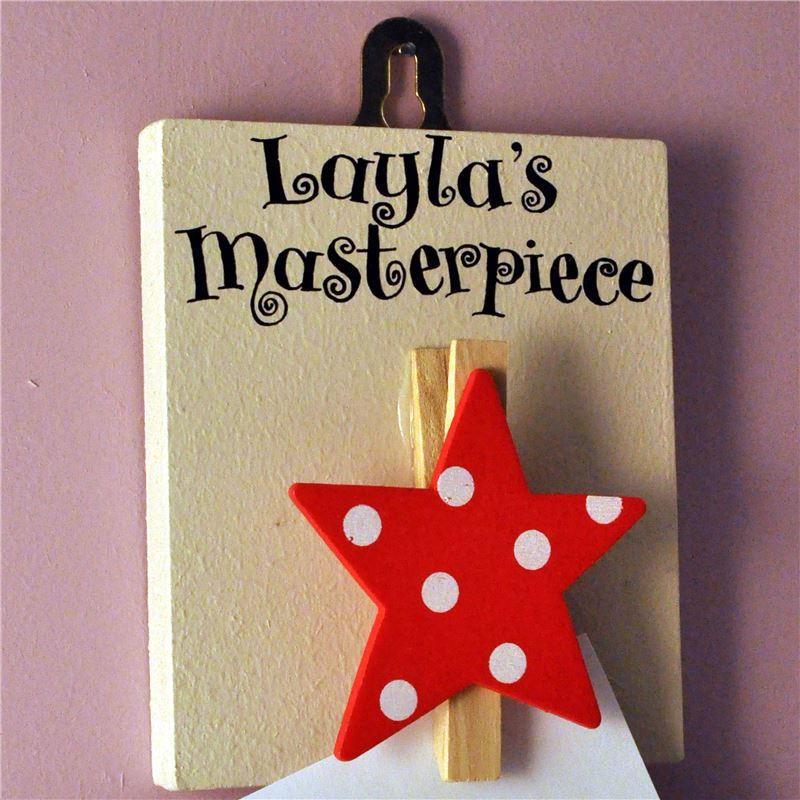 Order Personalised This Week's Masterpiece - Red Star