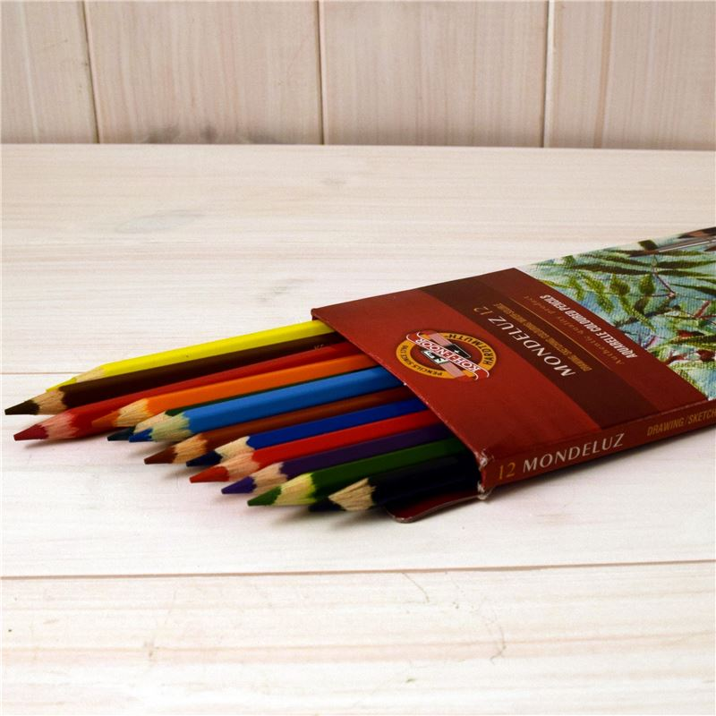 Order 12 Kohinoor Soluable Cloured Pencils