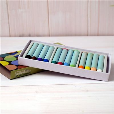 12 Soft Chalk Pastels