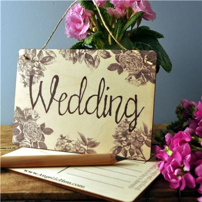 Sign Posts - Wedding