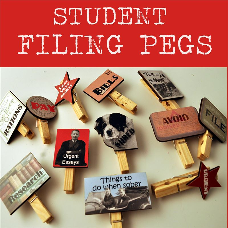 File-O-Pegs: Filing Pegs for students