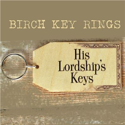 Birch Key Ring: His Lordship's Keys