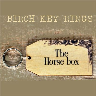 Birch Key Ring: The Horse Box