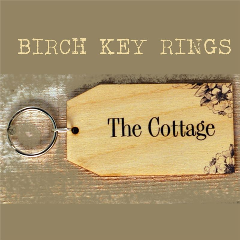 Order Birch Key Ring: The Cottage
