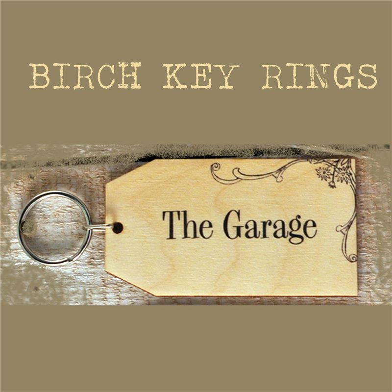 Order Birch Key Ring: The Garage