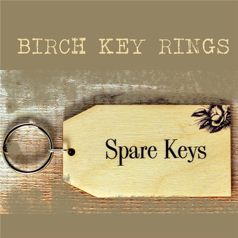Order Birch Key Ring: Spare Keys