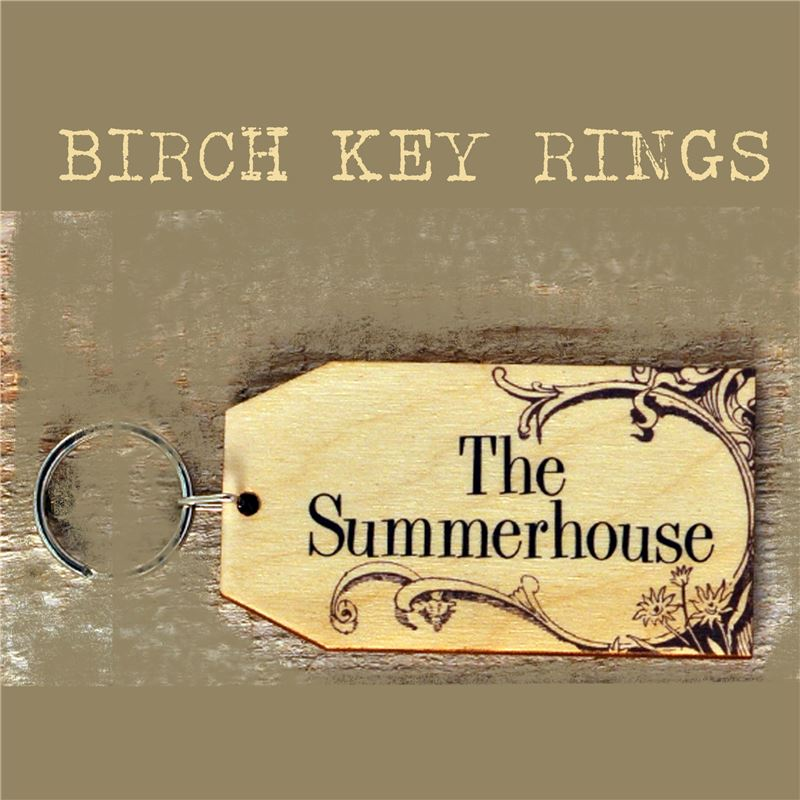 Order Birch Key Ring: The Summerhouse